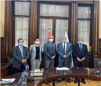 وزير الزراعة يبحث مع مستشار السفارة الألمانية أوجه التعاون المشترك