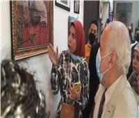 ٦٠ فنانا تشكيليا يشاركون في معرض بوابة الفن بطنطا