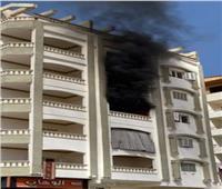 السيطرة على حريق بوحدة سكنية في السويس