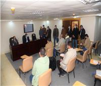 افتتاح الدورة التدريبية لتنميه مهارات العاملين بالجهاز الإداري