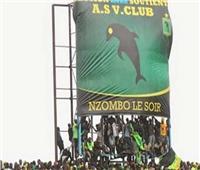 الجماهير الكونغولية تعتدي على لاعبي الأهلي في مباراة فيتا كلوب