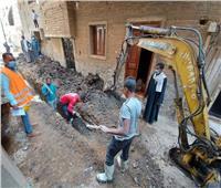 ضمن «حياة كريمة».. أعمال حفر وتركيب شبكات انحدار بقرية الكلابية بالأقصر
