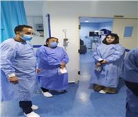 لجنة من صحة السويس لمتابعة مكافحة العدوى في المراكز الطبية والعيادات