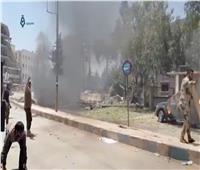 انفجار سيارة في عفرين شمال سوريا