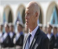 الرئيس التونسي قيس سعيد يصل إلى مطار معيتيقة الليبي