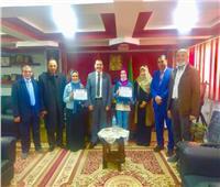 «تعليم المنوفية» تُكرم الطالبات الفائزاتفي مسابقة اللغة العربية الفصحي