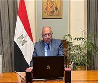 شكري يؤكد تطلع مصر للاستمرار في تعزيز التعاون مع السويد