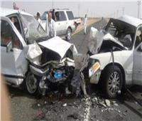 إصابة 6 أشخاص في تصادم بـ«سوهاج»