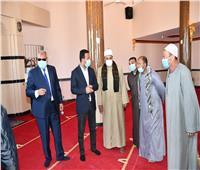 افتتاح مسجد «مصطفى شرابي» بعد تجديده بـ2 مليون جنيه