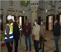 محافظ مطروح يتفقدأعمال ترميم مسجد العوام