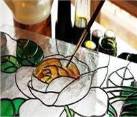 «الرسم على الزجاج».. ورش فنية بـ«ثقافة المنيا»