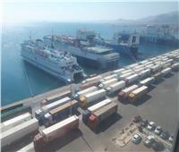 تداول 429 ألف طن بضائع بموانئ البحر الأحمر خلال شهر فبراير