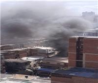 السيطرة على حريق بمحل في منطقة غربال بالإسكندرية