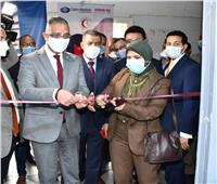 المحافظ يفتتح وحدة طب الجنين بمستشفي الفيوم العام