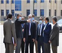 بدء الدراسة بكلية الحقوق جامعة كفرالشيخ