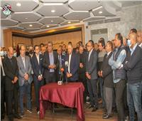 أبوريدة يوجه الشكر للدولة المصرية من داخل اتحاد الكرة