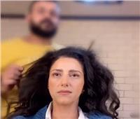 حنان مطاوع تنشر كواليس تصوير مسلسل «ورد»  فيديو