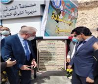 وزير الشباب يشارك في افتتاح عدد من المشروعات التنموية بمدينة طابا