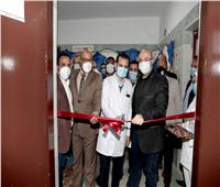 محافظ بني سويف يفتتح وحدة العناية المركزة بمستشفى الصدر