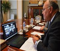 وزير الخارجية يشارك في الاجتماع الوزاري لمجلس السلم والأمن الأفريقي