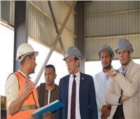 عضو مجلس الشيوخ بقنا يزور أكبر قلعة صناعية حديثة في صعيد مصر