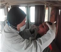 فحص 1511 مواطنا خلال قافلة طبية في بني سويف | صور