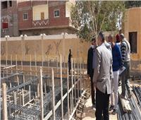 نائب محافظ أسيوط: تركيب أعمدة إنارة بقرية المعصرة ضمن «حياة كريمة»