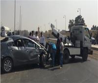 إصابة 4 أشخاص في حادث انقلاب سيارة بكوم أمبو