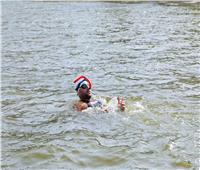 «الباروكي» ينجح في السباحة 6 ساعات استعدادًا لـ«عبور المانش»
