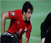 أحمد حجازي يخوض مباراة وحيدة مع منتخب مصر