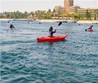 عروض الرياضة المائية تتصدر فعاليات الملتقى الدولي للسياحة الرياضية