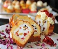 حلويات سهلة   كيك «الكاساتا » بالفاكهة المجففة