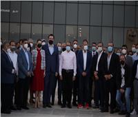 وزير الطيران يتفقد مطاري «طابا والطور» عقب الاحتفالات بذكرى بتحرير طابا  صور
