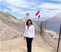 نائبة وزير السياحة: تظل طابا وجهة متفرده لقضاء العطلات للسياح من الأردن