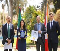 وزيرة التعاون الدولي تتسلم جائزة رائدات التغيير احتفالا باليوم العالمي للمرأة