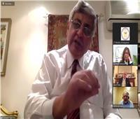 عوض تاج الدين: ننطلع للاستفادة من خبرات الأطباء المصريين بالخارج