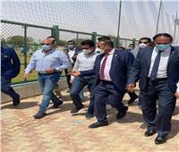 أشرف صبحي يشيد بالطفرة من البنية التحتية الرياضية بجامعة أسوان
