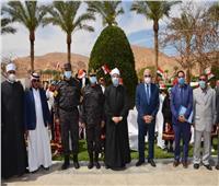 يومان في جنوب سيناء.. تفاصيل زيارة وزير الأوقاف للمدينة الساحرة  صور