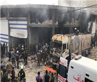انفجار داخل مستودع «بطاريات» في حلب ووقوع إصابات