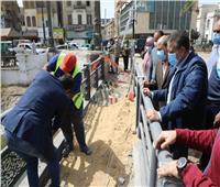 محافظ المنوفية يتابع أعمال التطوير بكوبري عمر أفندي بشبين الكوم