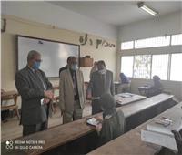 استئناف أعمال امتحانات الفصل الدراسي الأول بكليات البنات الإسلامية بأسيوط