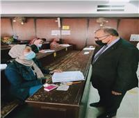 نائب رئيس جامعة السادات يتابع سير امتحانات «السياحة والفنادق»