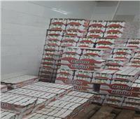 ضبط مصنع عصائر يستخدم مواد مجهولة المصدر بالإسكندرية