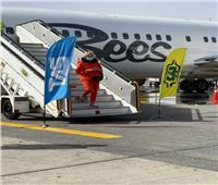 مطار الغردقة يستقبل أولى رحلات «Bess Airlines» الأوكرانية