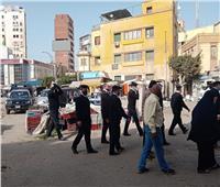 حملة مكبرة لإخلاء ميدان المحطة بالمحلة لتطويره