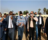 «صبحى» يفتتح المبنى الإداري بمركز شباب دهميت