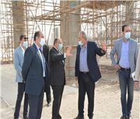 الوزير يتفقد مبني «التنمية المحلية» بالعاصمة الإدارية الجديدة