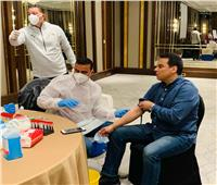 مسحة طبية لمنتخب مصرمع انطلاق المعسكر