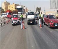 تحرير 4814 مخالفة مرورية على الطرق السريعة