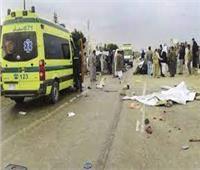 إصابة 6 أشخاص فى حادثي تصادم بأسوان